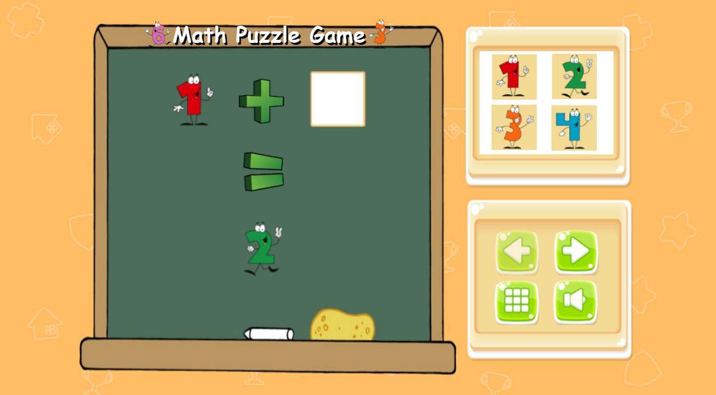 Math Puzzle Games For Kids Apk