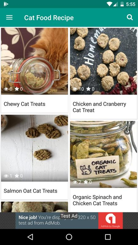 Catty cat food recipes best homemade cat food apk download free catty cat food recipes best homemade cat food apk screenshot forumfinder Image collections