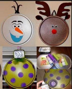 Homemade Christmas Decorations poster