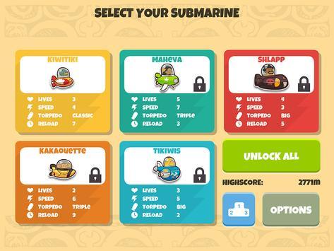 Kiwitiki Submarine Race screenshot 5