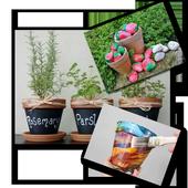 Homemade Flower Pot Rock Ideas icon