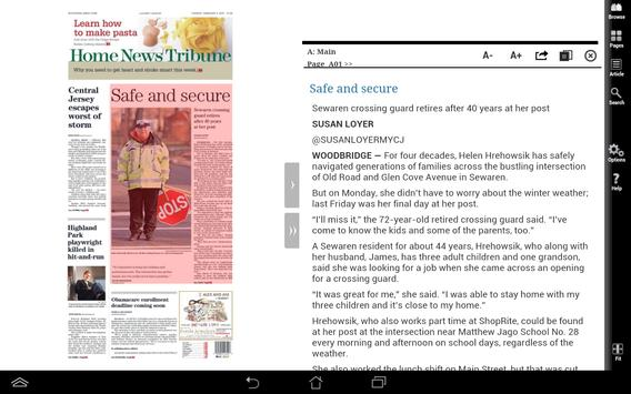 Home News Tribune Print apk screenshot
