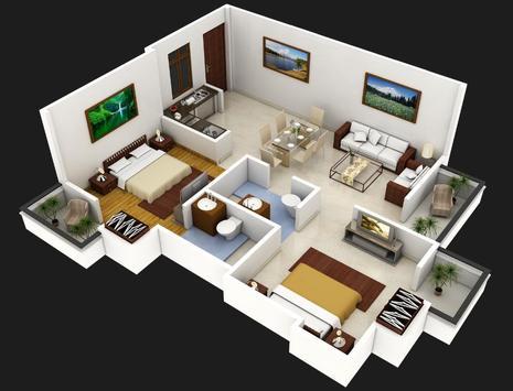 Best 3D Home Plan poster