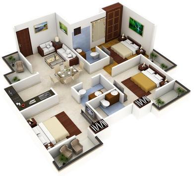 Best 3D Home Plan screenshot 1