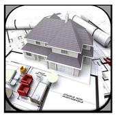 3D Home plans icon