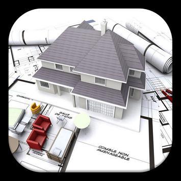 3D Home plans poster