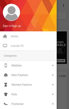 HomeShop18 Mobile screenshot 1