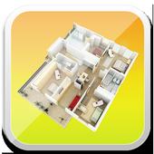 Unique Home Design 3D icon