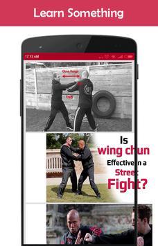 Wing Chun Fighting System screenshot 2