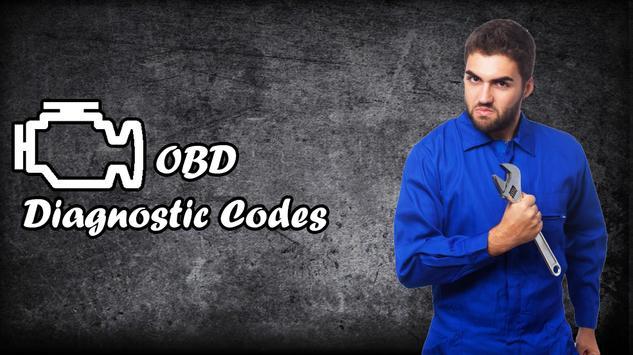 OBD Diagnostic Codes 2016 poster