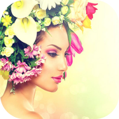 Flowers Crown Photo Editor icon