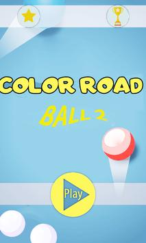 Color Ball Road 2 poster