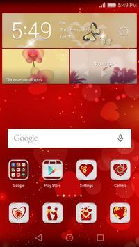 Honor Valentines Theme apk screenshot