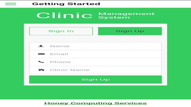 My Clinic Hospital-Patient Mgt screenshot 3
