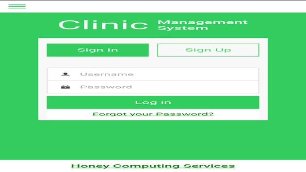 My Clinic Hospital-Patient Mgt screenshot 2