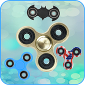 Fidget spinner free real hand game icon