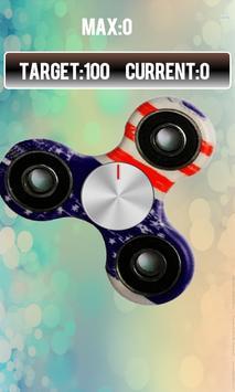 Fidget spinner free real hand game screenshot 1