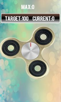 Fidget spinner free real hand game screenshot 3