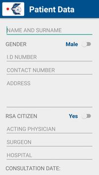 CRPM Patient Info screenshot 1
