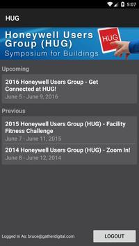 Honeywell Users Group (HUG) poster