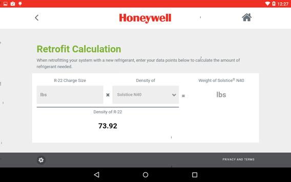 Refrigerant Selection Tool screenshot 4