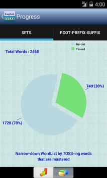 English Vocabulary Lite apk screenshot
