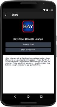 BayStreet Upscale Lounge poster