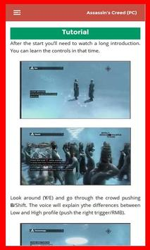 Guide for Assassins Creed poster