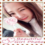 Beautiful Girls Photo Frames icon