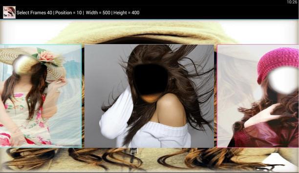 Beautiful Girls Photo Frames screenshot 4