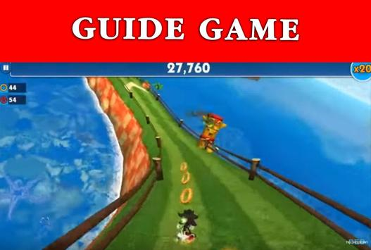 Guide Sonic Dash 2 boom screenshot 8