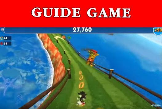 Guide Sonic Dash 2 boom screenshot 2