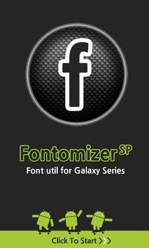 Fontomizer SP(Font for Galaxy) 海报