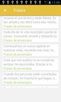 Frases de Aniversario screenshot 1