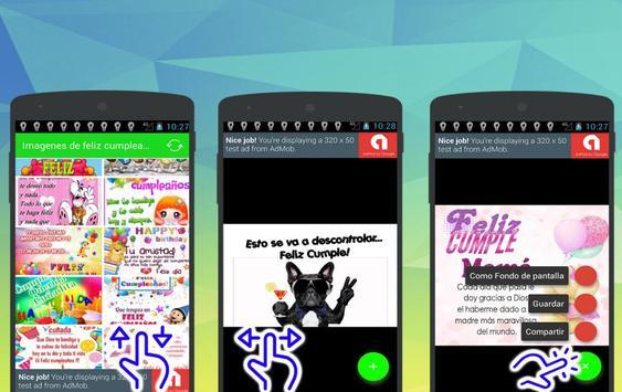 Imagenes de feliz cumpleaños apk screenshot