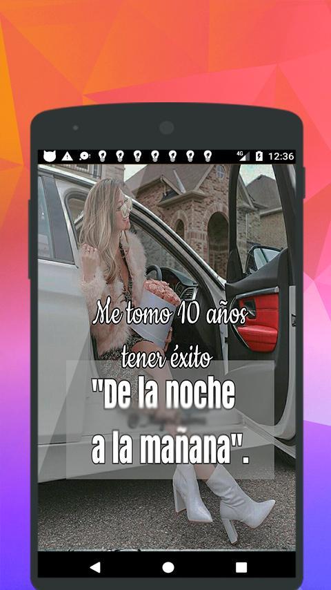 Frases De Mujeres Exitosas для андроид скачать Apk