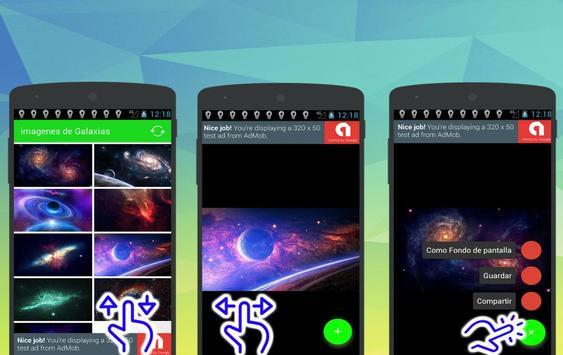 Galaxy Wallpapers HD screenshot 3