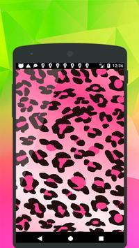 Leopard Print Wallpaper poster