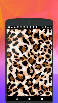 Leopard Print Wallpaper screenshot 2