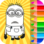 Minion Coloring Pages icon