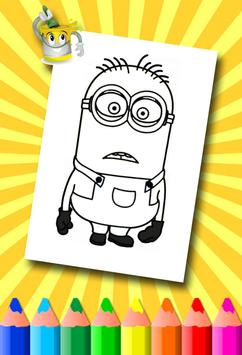 Minion Coloring Pages screenshot 7