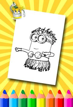 Minion Coloring Pages screenshot 9