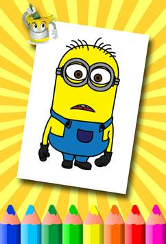Minion Coloring Pages screenshot 12