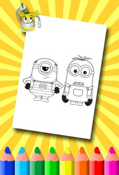 Minion Coloring Pages screenshot 17
