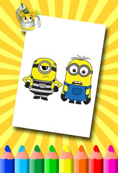 Minion Coloring Pages screenshot 16