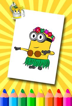 Minion Coloring Pages screenshot 2