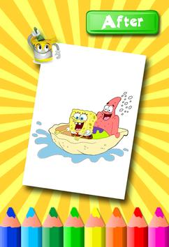 Sponebob Coloring Pages screenshot 9