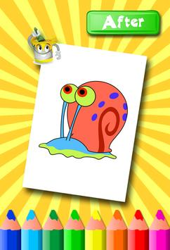 Sponebob Coloring Pages screenshot 13