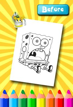 Sponebob Coloring Pages screenshot 10