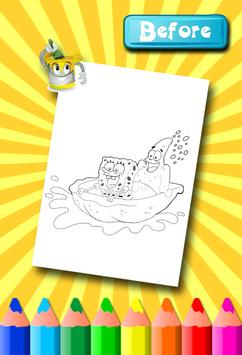 Sponebob Coloring Pages screenshot 16